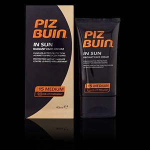 PIZ BUIN IN SUN radiant face cream SPF15 40 ml